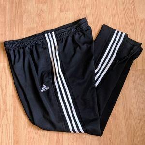Adidas Classic Track Warm Up Black Jogger Pants XL